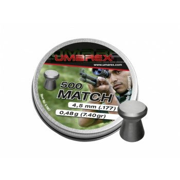 Diabole Umarex  Match 4,5 mm, 500 kos