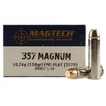 STRELIVO MAGTECH .357 MAG, FMJF, 158 GRS, 50 KOS