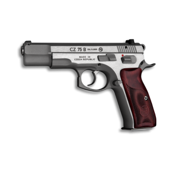 PIŠTOLA CZ 75 B, STAINLESS NEW EDITION , KAL.:  9 MM LUGER