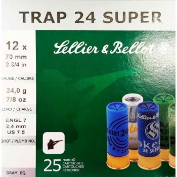 STRELIVO S&B SUPER TRAP, 12/70, 24G, 25 KOS